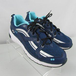 Ryka Stance Blue Athletic Shoes Sneakers Women 9.5